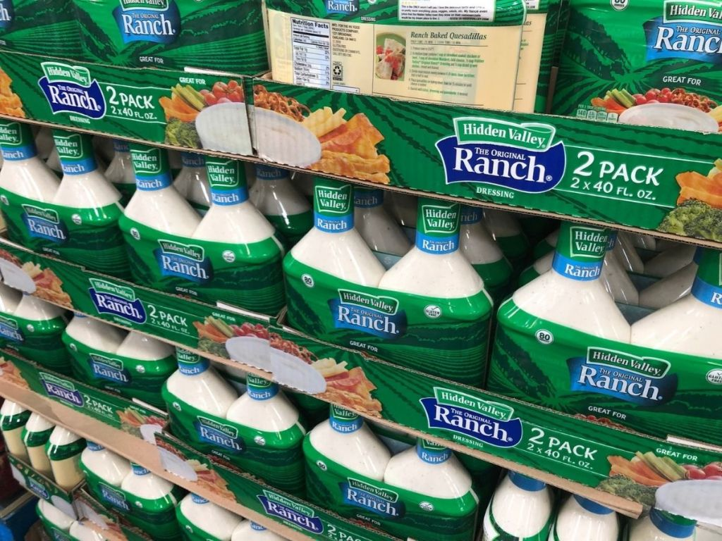 2-packs of ranch