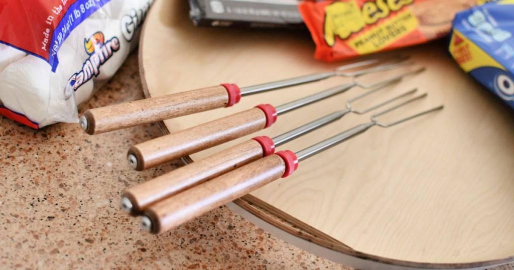 roasting sticks for s'mores