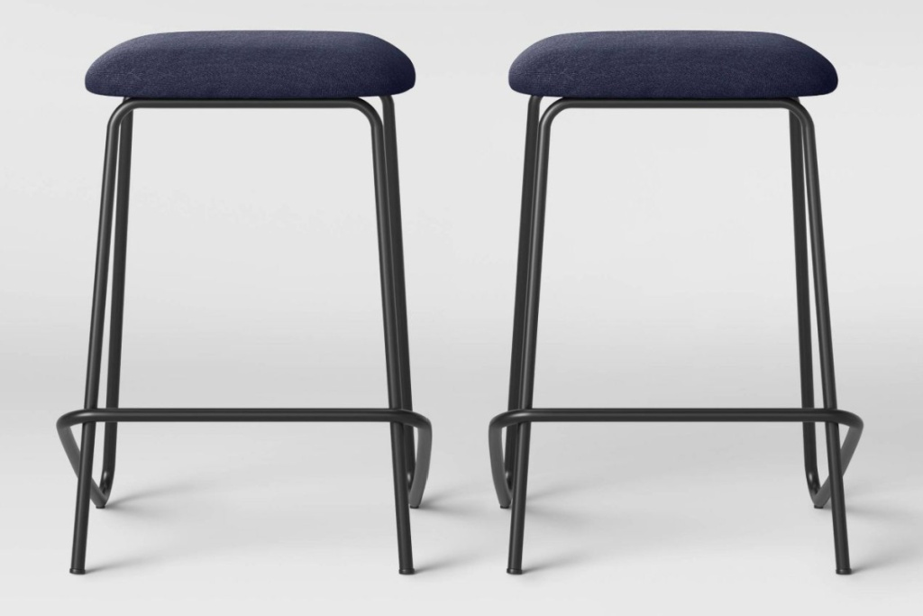 set of 2 room essentials stacking stools