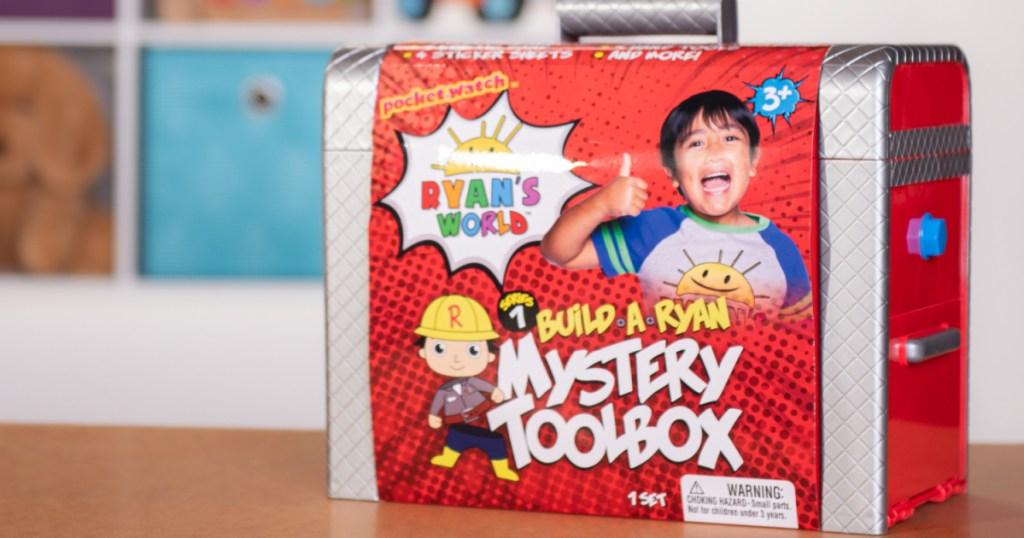 ryans world mystery toolbox unopened