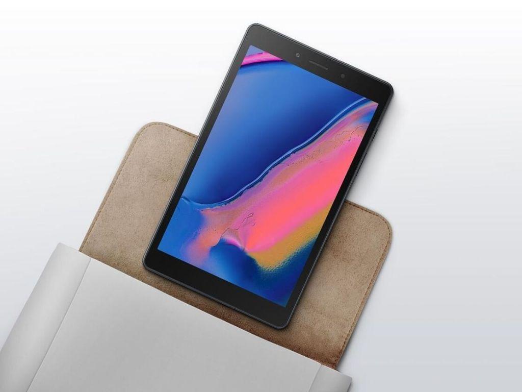 Samsung galaxy tablet on case