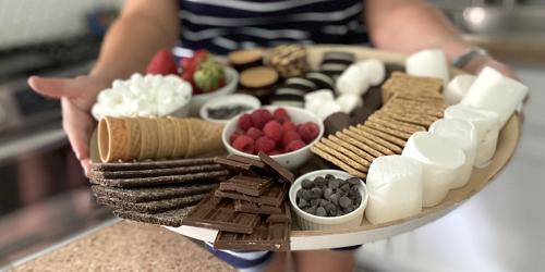 Make an Epic S'mores Charcuterie Board This Summer
