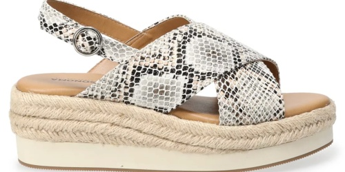 Women's Sandals from $8.99 + FREE Shipping for Select Kohl's Cardholders | Sonoma, Lauren Conrad & More