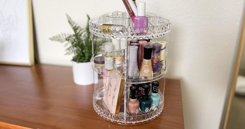 sorbus makeup organizer w/ makeup