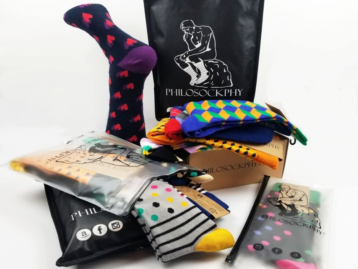 Philosockphy socks and packages