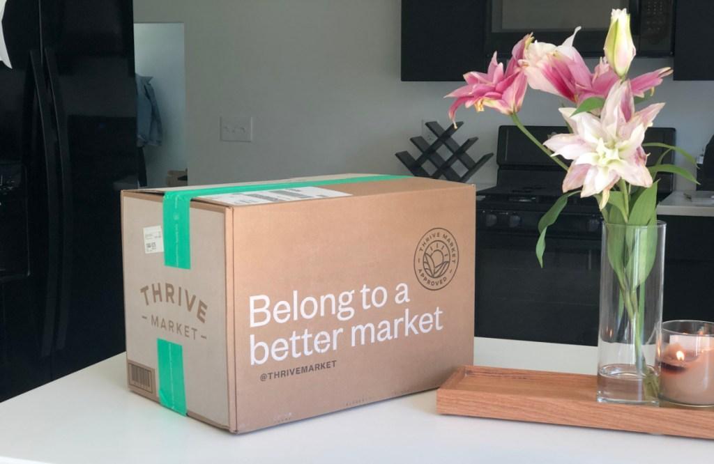 thrive box on table
