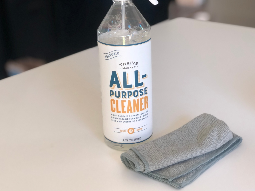thrive cleaning products