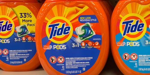 Tide Pods 96-Count Container Only $15 Shipped on Amazon (Regularly $24)