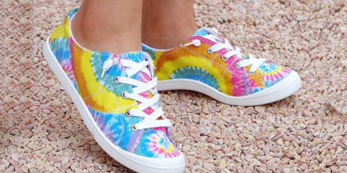 Women's Casual Sneakers Only $12.99 on Zulily (Regularly $44)   Floral, Tie-Dye & More Fun Styles