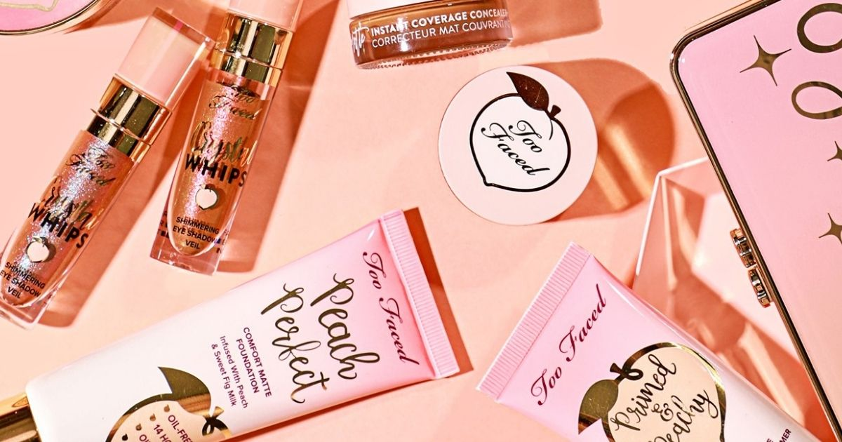 Too Faced peach products