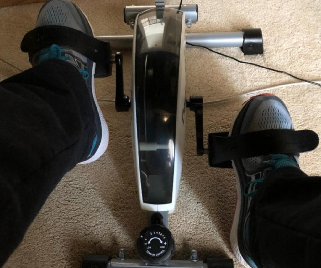 under desk bike pedal