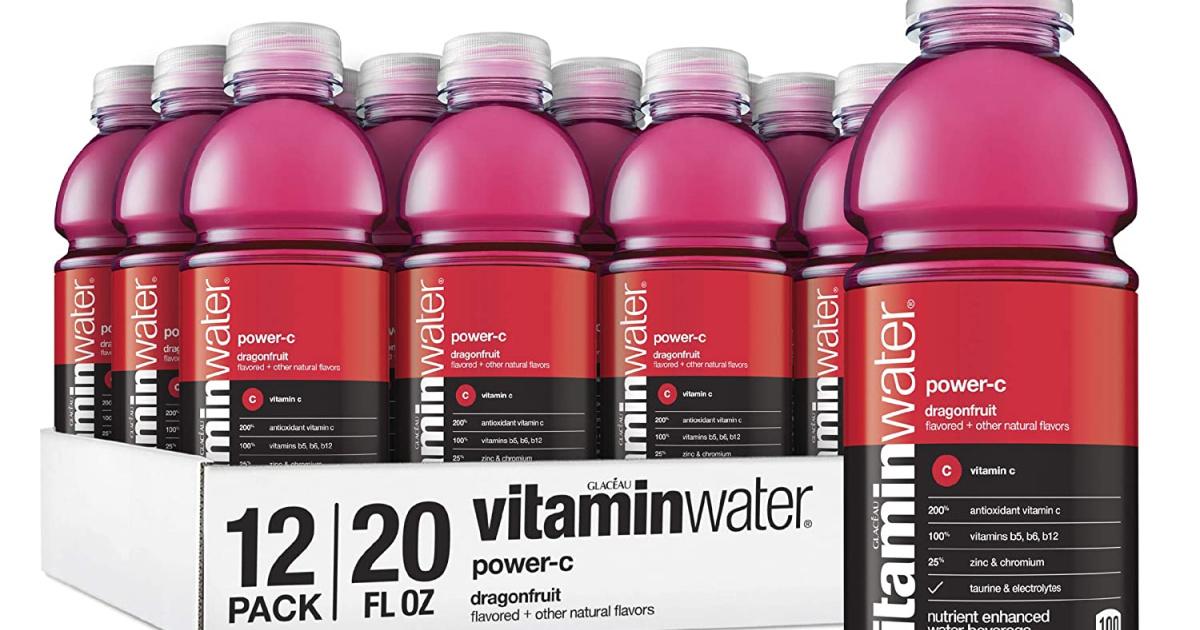 vitaminwater bottles
