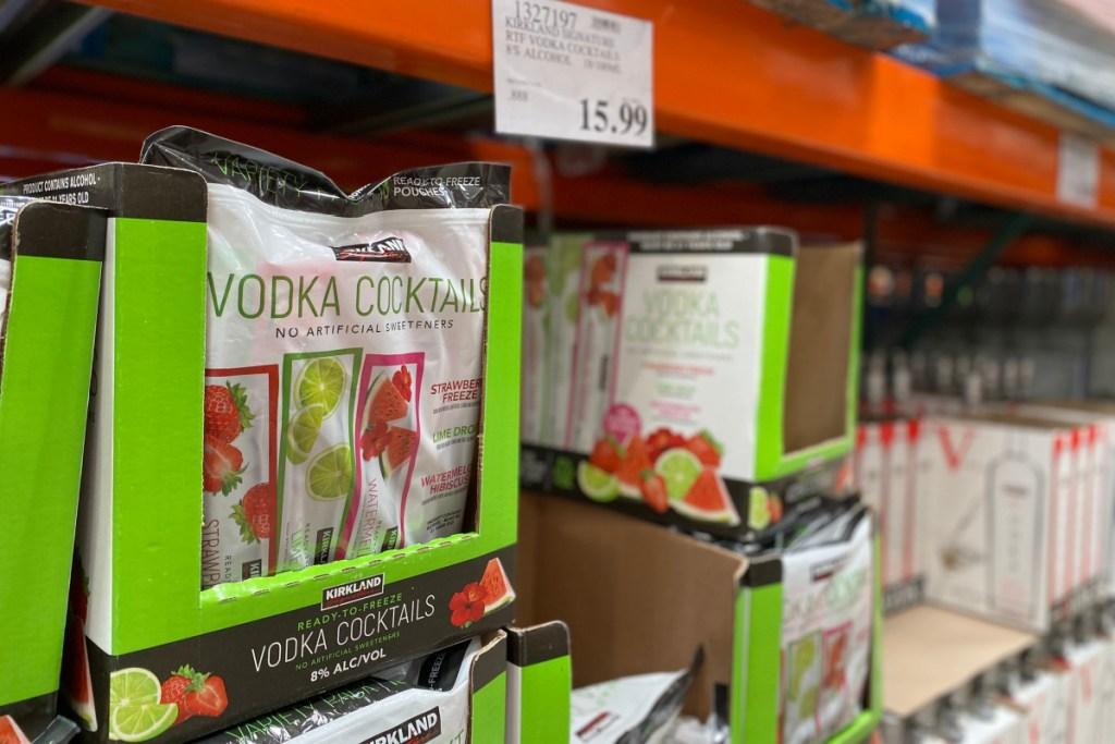 vodka cocktail pops in store