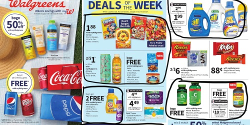 Walgreens Ad Scan for the Week of 7/4/21 – 7/10/21 (We've Circled Our Faves!)