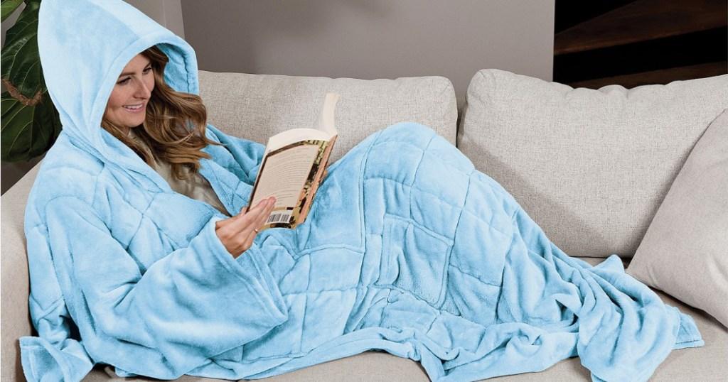 wearabe weighted blanket
