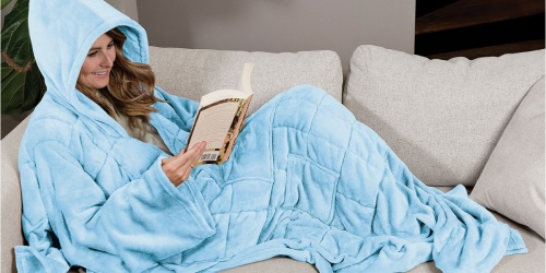 Wearable Weighted Blanket Only $53.99 Shipped on Macys.com (Regularly $180!)