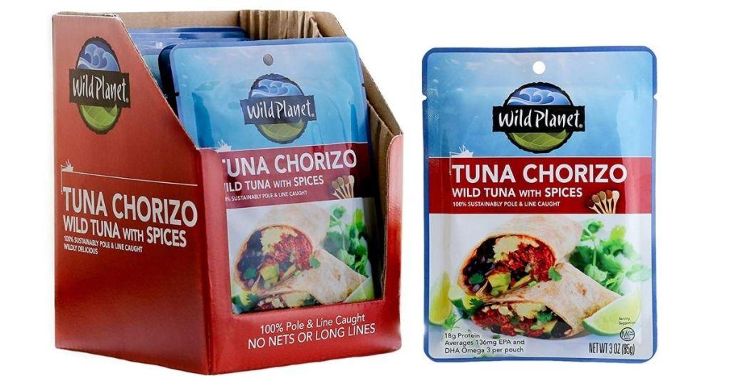Wild Planet Tuna Chorizo packs