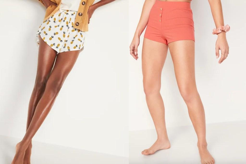 womens pajama boxers