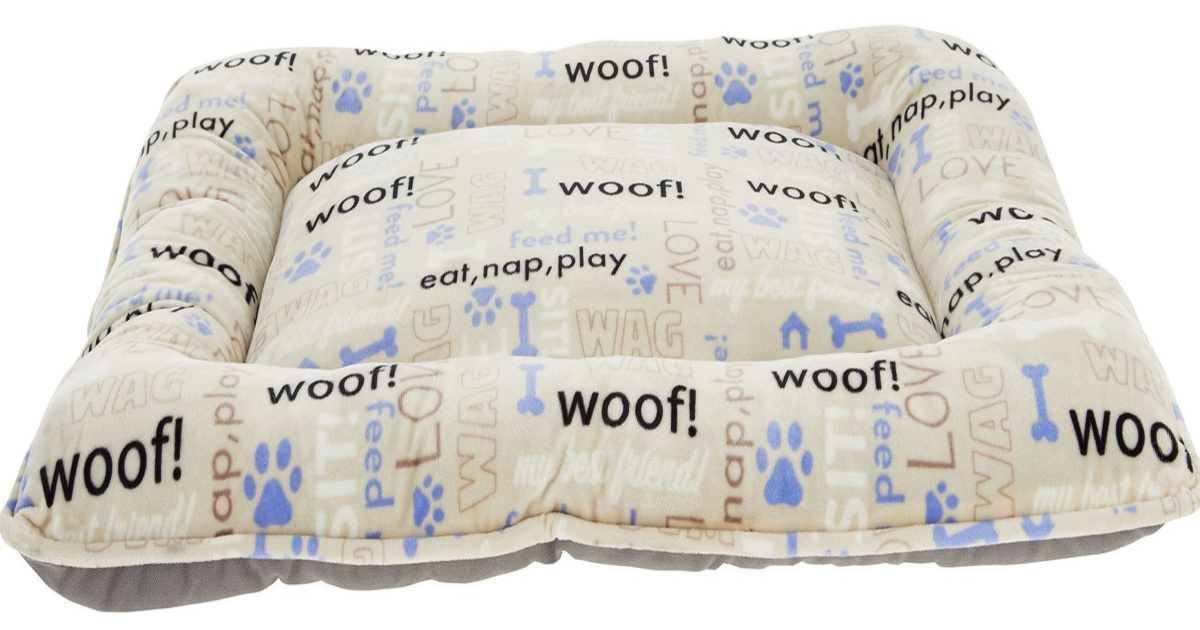 stock image of pet bed pillow