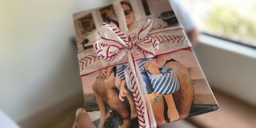 Our Christmas Giveaways Continue…. Enter to Win FREE Canvas Photo Prints (We're Giving Away 10)