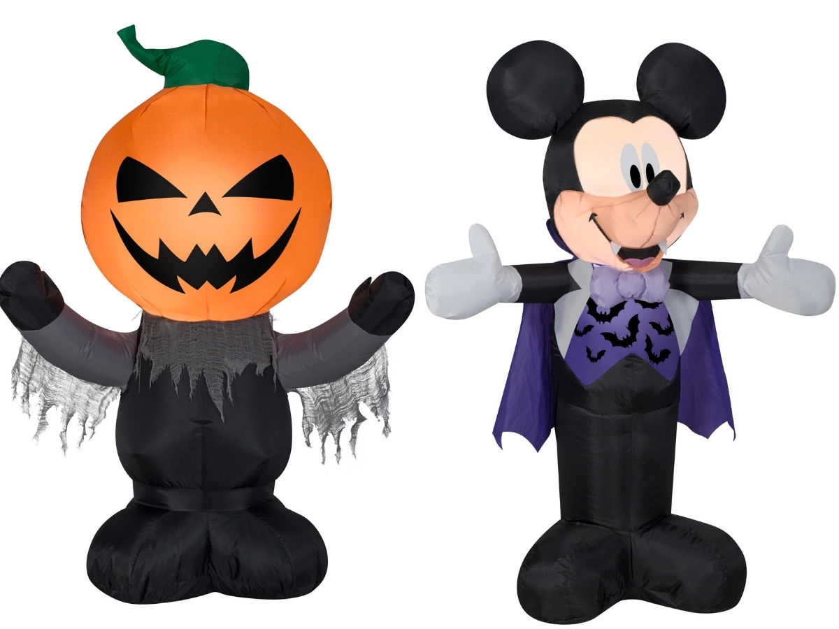 3.5 ft. Airblown Inflatable Halloween Decor at Michaels