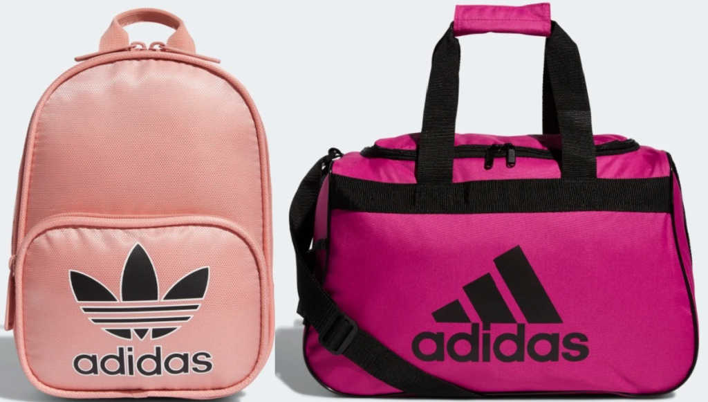 2 adidas bags