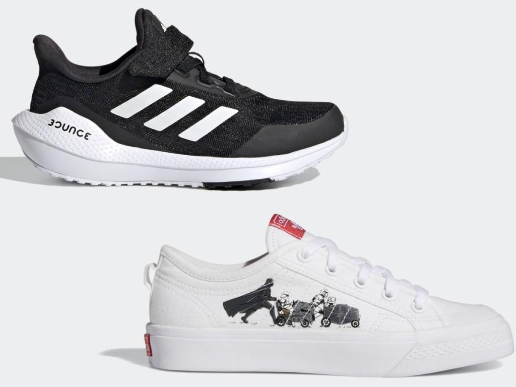 Adidas EQ21 Run El K and Adidas Nizza X Star Wars Shoes