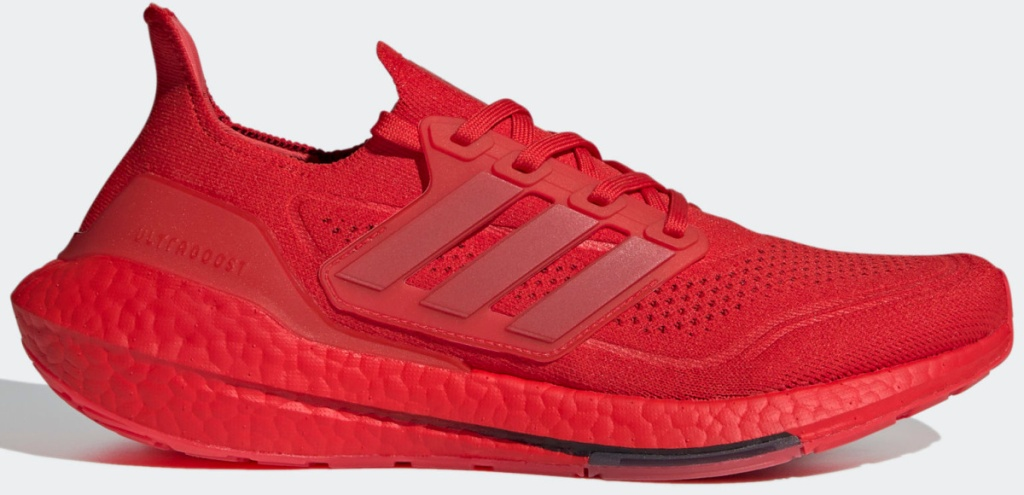 adidas red ultraboost 21 shoes