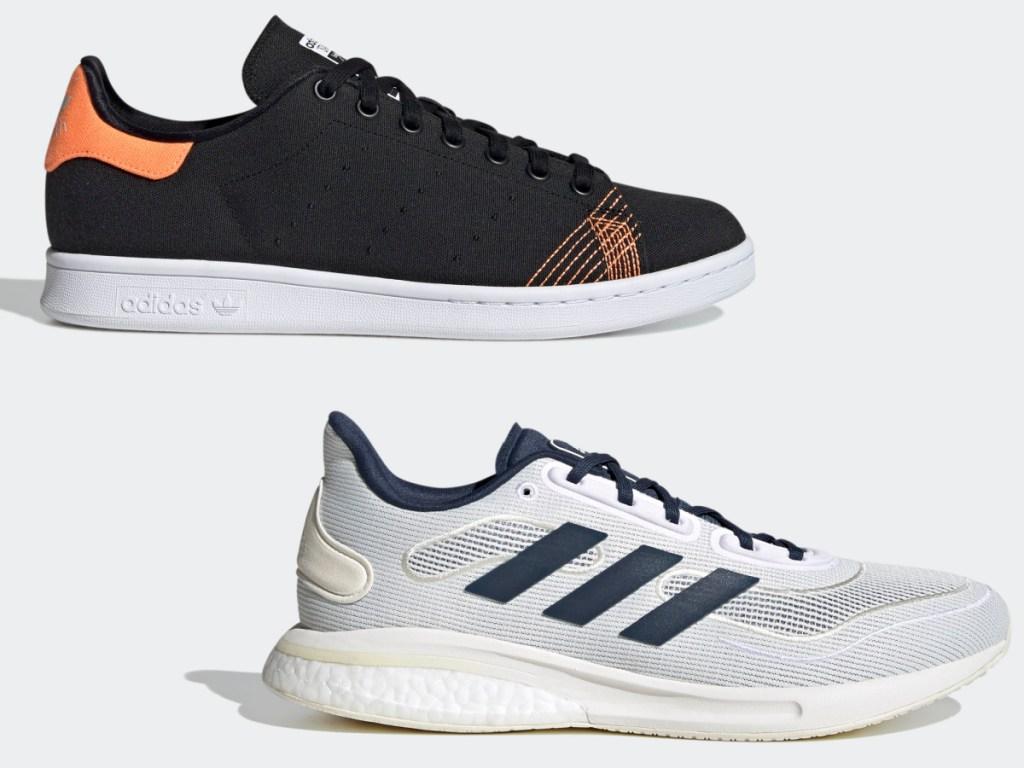 Adidas Stan Smith Primeblue Shoes and Adidas Supernova Shoes