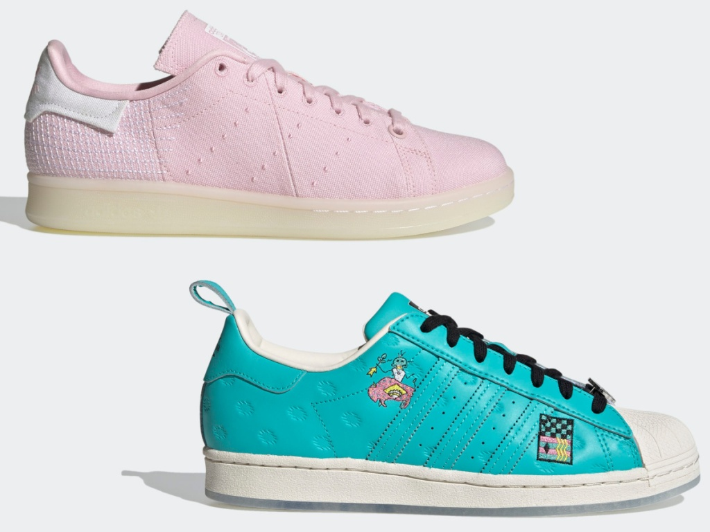 Adidas Stan Smith Primeblue Shoes and Adidas Superstar Arizona Shoes