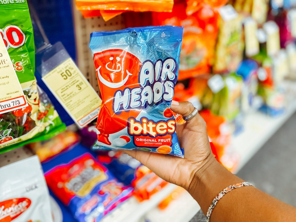 Air Heads Bites held up in store