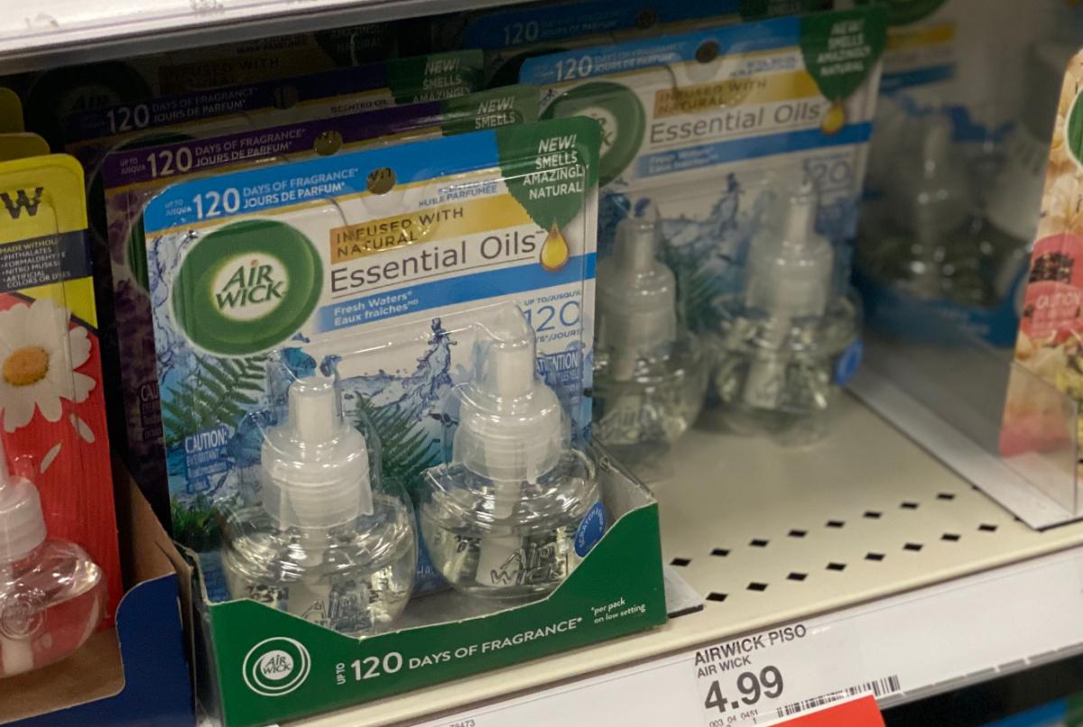 Buy 1 Get 1 Free Air Wick Coupon Refills Just 2 49 Per Twin Pack At Target