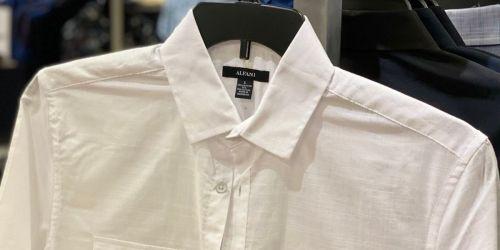 Men's Dress Shirts from $7.96 on Macys.com (Regularly $50)