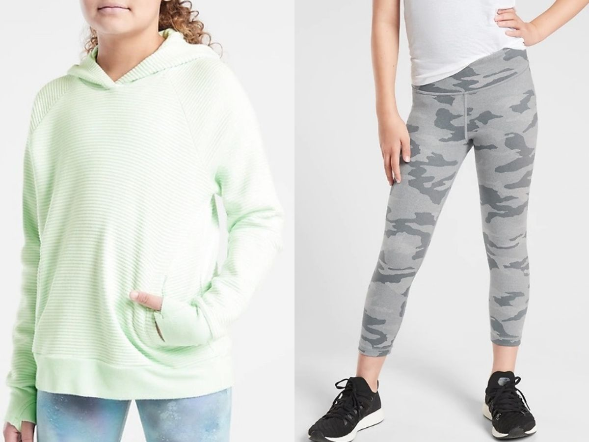 Athletic clothing for girls
