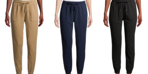 Women's Joggers Only $5 on Walmart.com (Regularly $17) + Up to 70% Off More Athletic Apparel