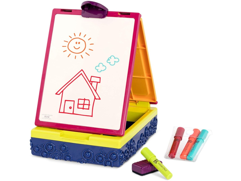 B. Toys Double Sided Table Top Easel