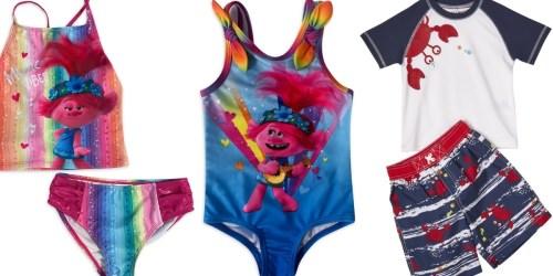 Baby Boys Rashguard 2-Piece Sets Just $5.99, Girls Swimsuits from $6 on Walmart.com