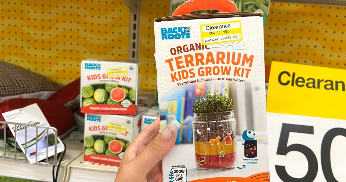 Back To The Roots Grow Kits & Terrariums