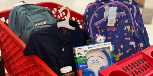 Best Target Weekly Ad Deals 7/18-7/24 (Back-to-School Clothing, Shoes, Supplies & More!)