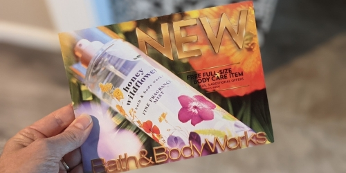 New Bath & Body Works Mailer w/ TWO Free Gift Offers & 20% Off Entire Purchase