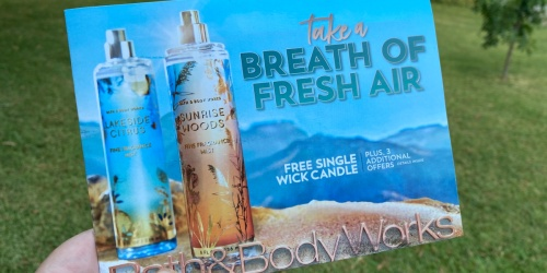 Check Your Mailbox for a Bath & Body Works Mailer w/ Free Candle Coupon w/ Purchase & More