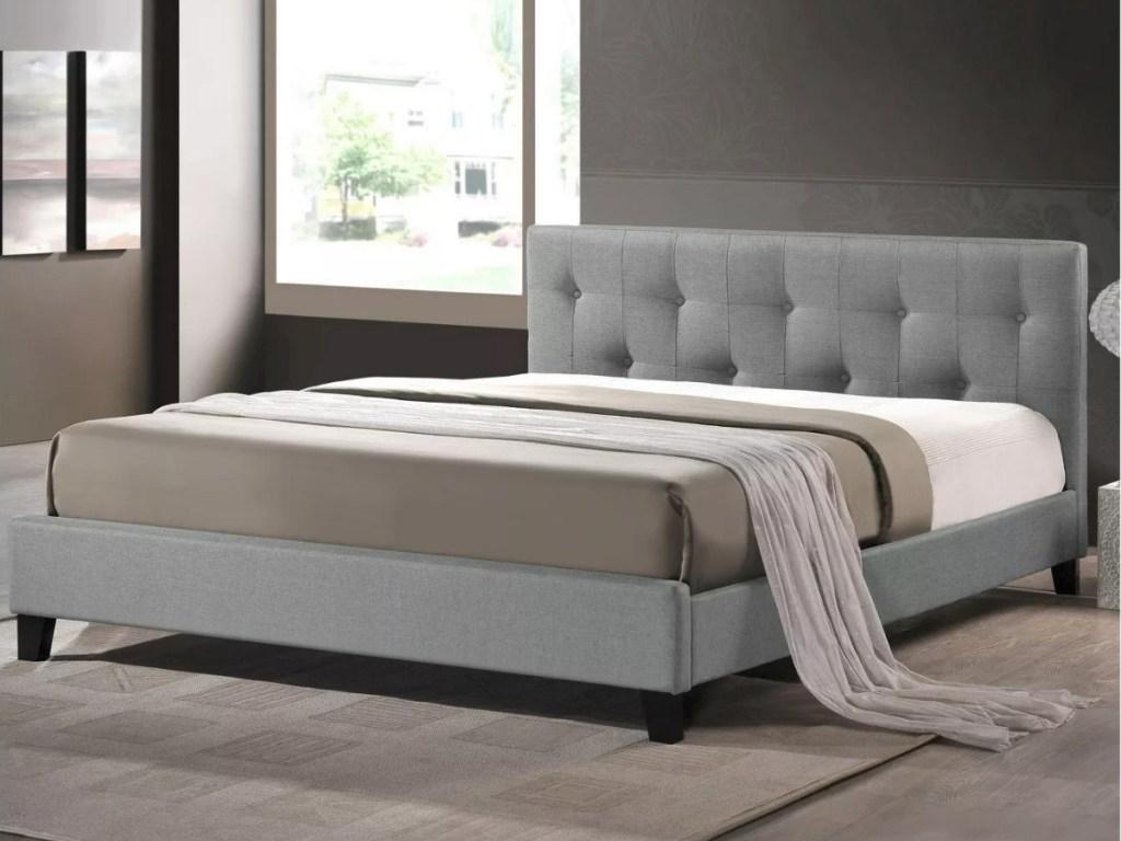 Baxton Studio 87x41x6 Queen Adult Bed
