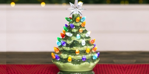 Holiday Decor Just $17.99 Shipped | Ceramic Christmas Tree, Wooden Advent Calendar, & More