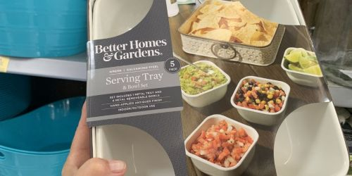 Better Homes & Gardens Serving Tray Sets Only $5 at Walmart (Regularly $10)
