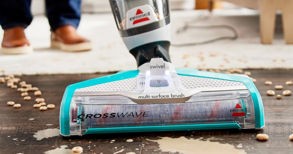 teal bissell cross wave