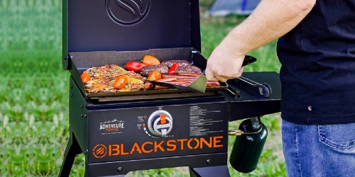 Blackstone On-the-Go Cart Griddle w/ Hood Only $179.99 Shipped (Regularly $250)