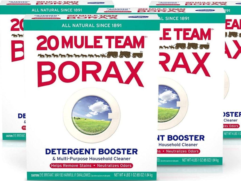 Borax laundry powder