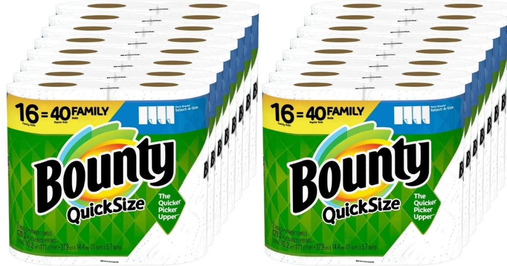 Bounty Quick-Size Paper Towels 16-Count