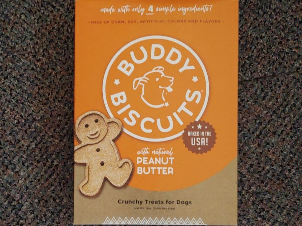 Buddy Biscuits Peanut Butter