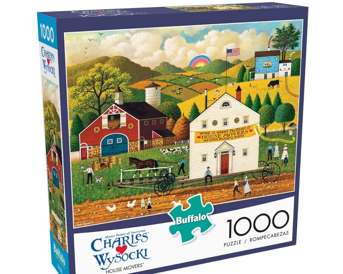 Buffalo Games 1,000 Piece Jigsaw Puzzle
